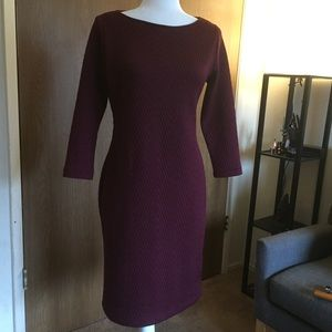 Maroon Business to Cocktail Dress